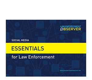Social Media Essentials for Law Enforcement Brochure
