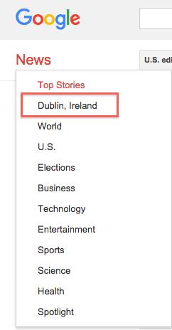 Google News Dublin