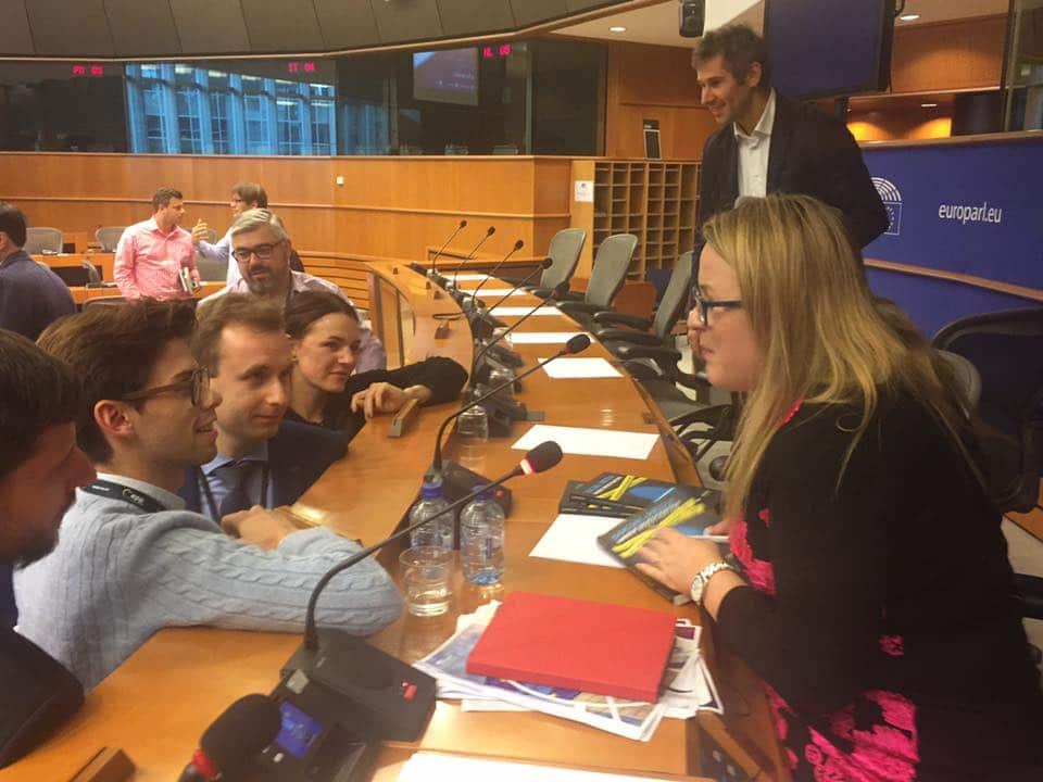 Joanne Sweeney-Burke EU Parliament