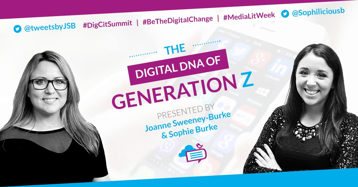 The social media habis of Generation Z