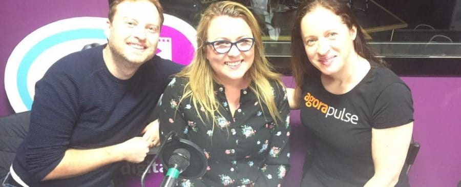 Paul O'Mahony, Joanne Sweeney-Burke and Jenny Brennan of Agorapulse discuss how social media changed our lives