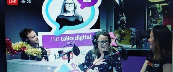 Launch of JSB Talks Digital Vlog
