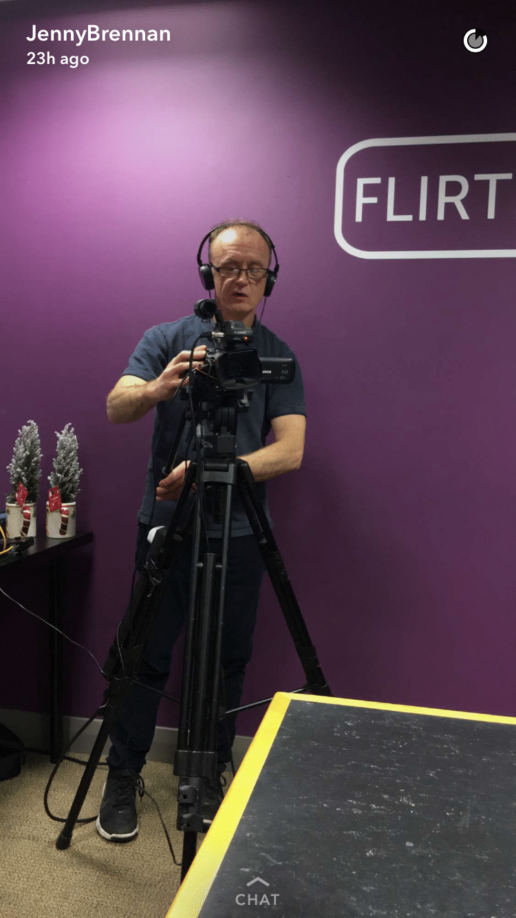 JSB Talks Digital Livecast Engineer Cormac from Staunton Media