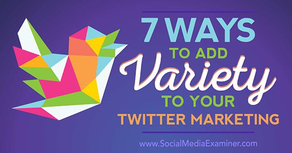 Twitter marketing tips Joanne Sweeney-Burke for Social Media Examiner