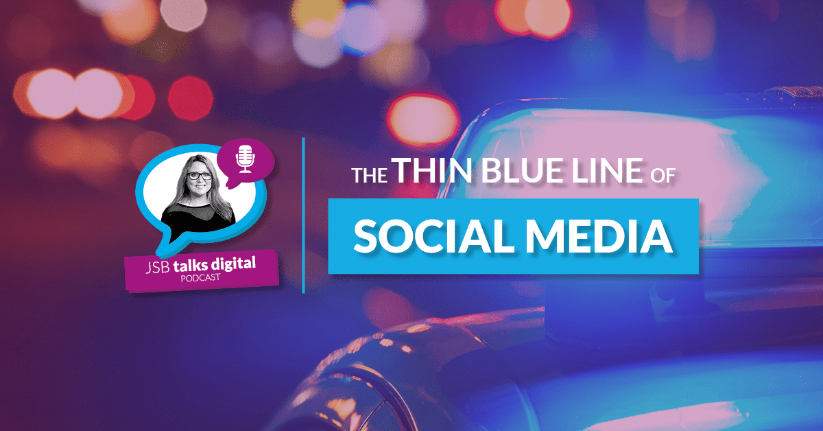 The thin blue line of social media – whose job is it to police it?