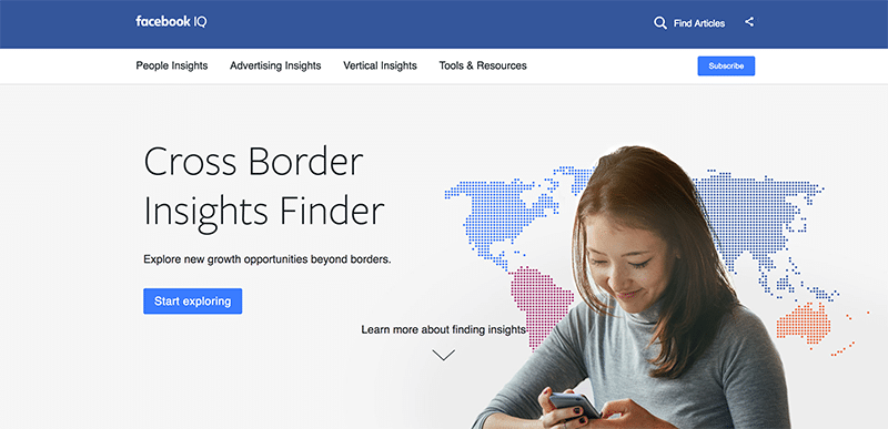 Facebook Cross Border Insights