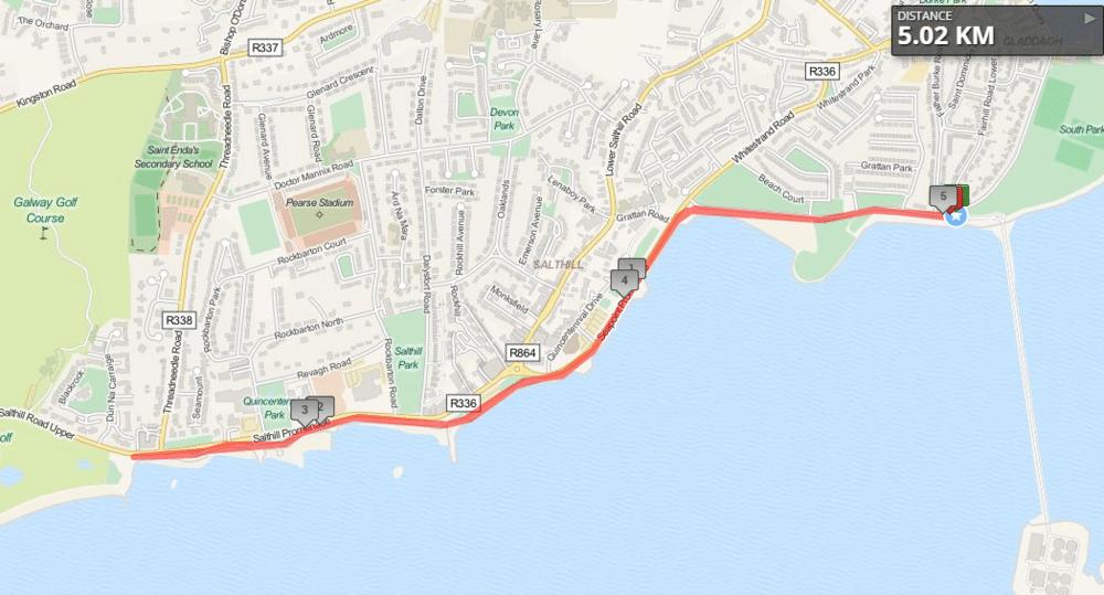 Run In The Dark Galway Route