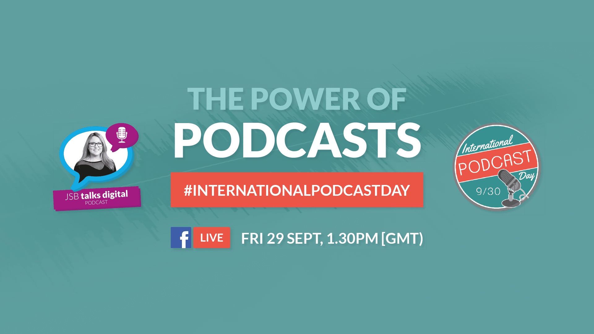 JSB Talks Digital celebrates International Podcast Day