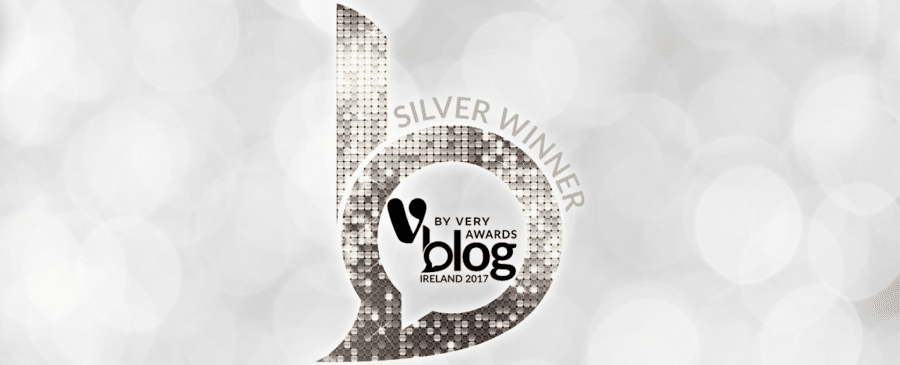 Silver Winner V by Very Blog Awards 2017