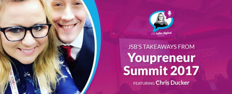 JSB's Takeaways from Youpreneur Summit 2017