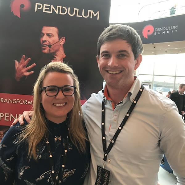JSB & Paul Prior at Pendulum Summit