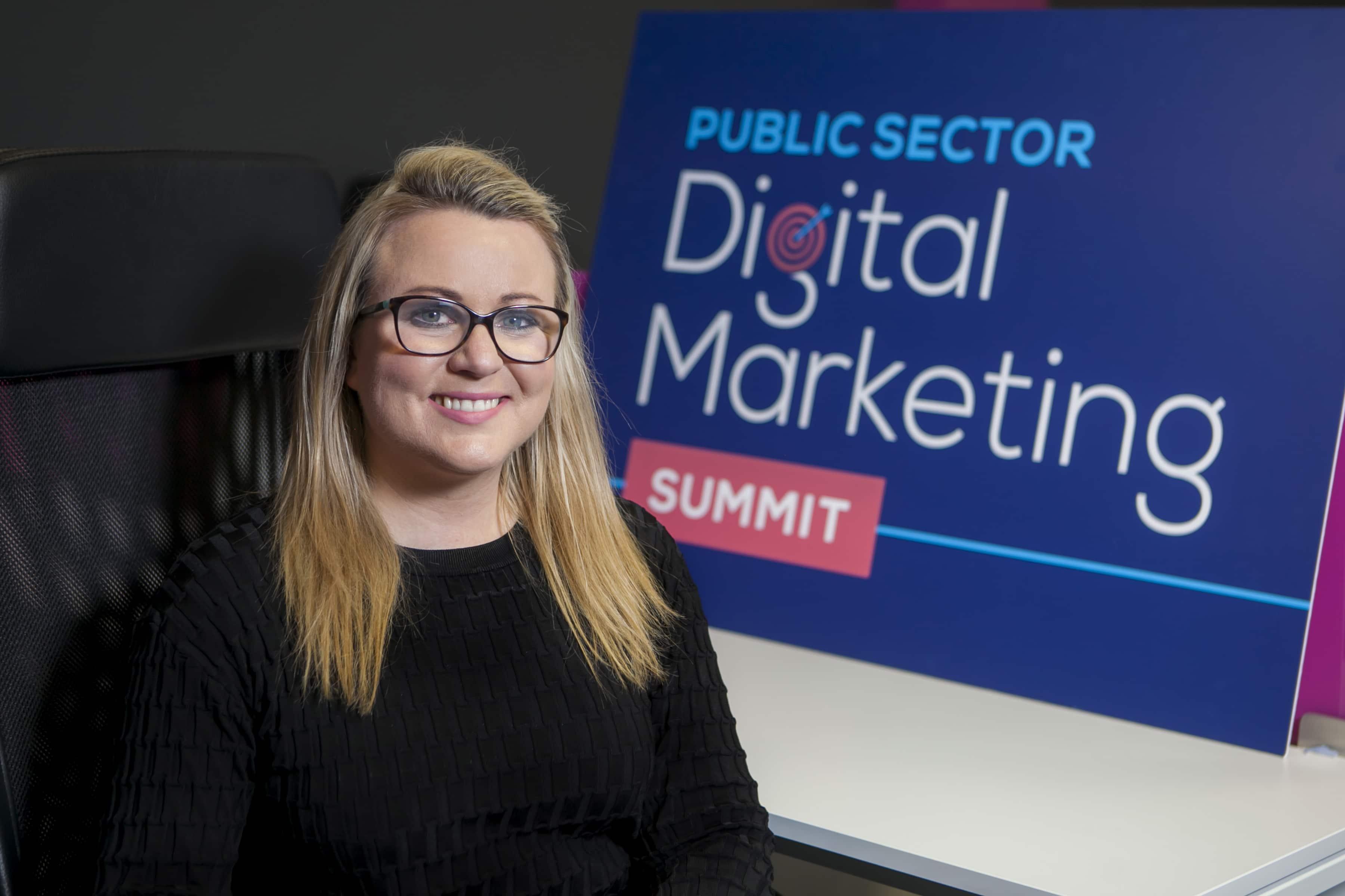 Joanne Sweeney-Burke organiser of the Public Sector Digital Marketing Summit
