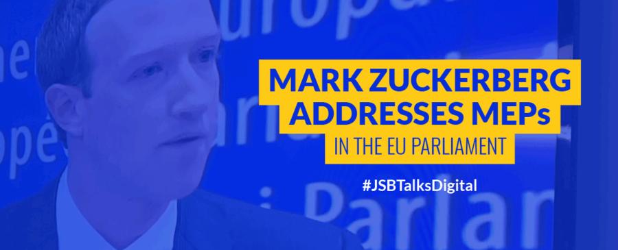 Mark Zuckerberg Addresses MEPs