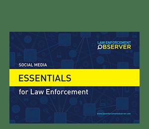 Social Media Essentials for Law Enforcement Brochure