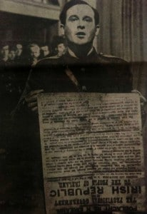 Pearse reads proclamation