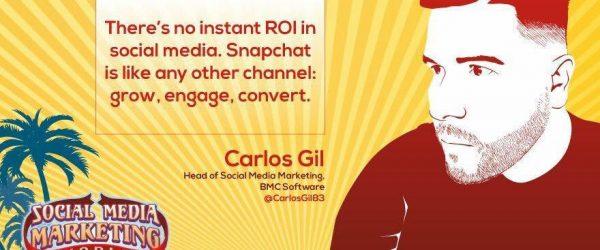 Carlos Gill on Social Media at #SMMW16