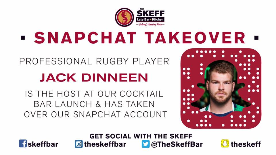 The Skeff Snapchat Takeover