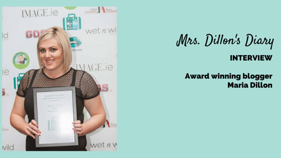 Mrs Dillon's Diary interview with Joanne Sweeney-Burke