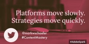 Change your social strategy