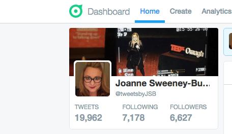 Set up Twitter dashboard