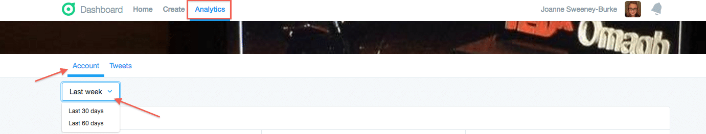 Twitter Dashboard Analytics