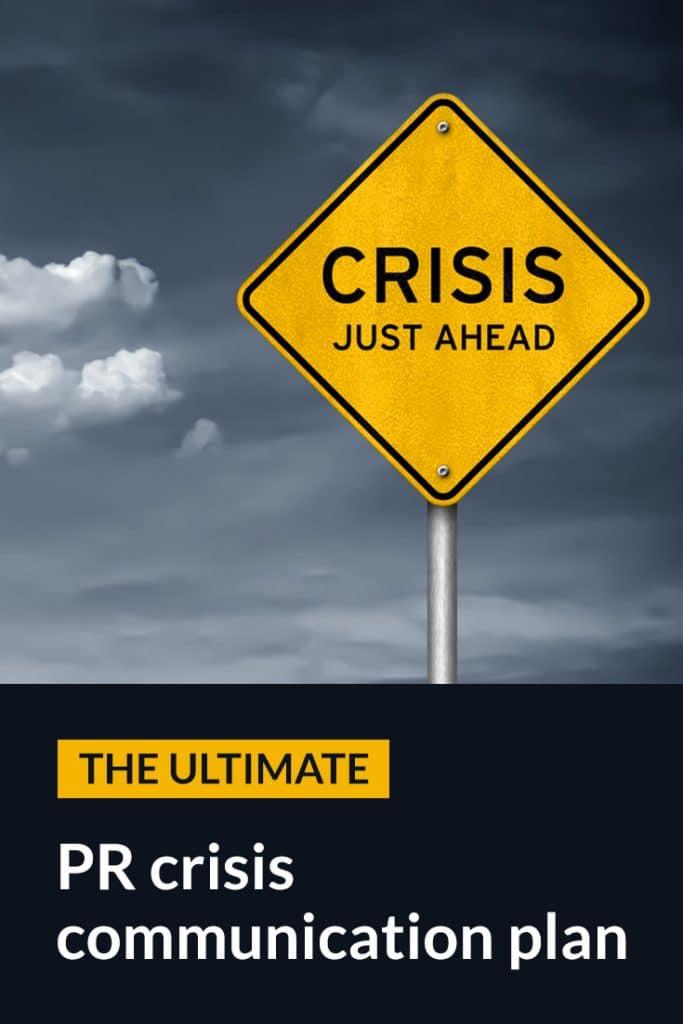 PR Crisis Communications Plan