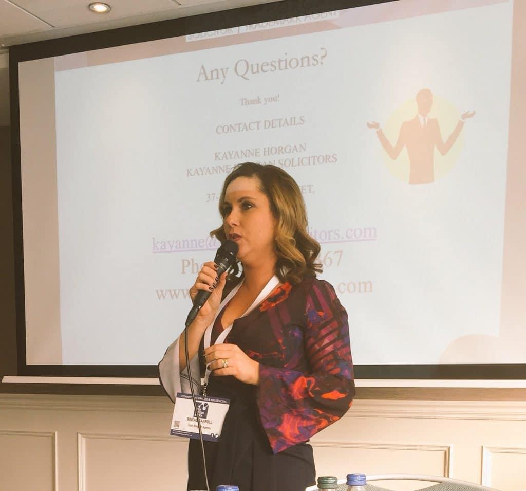 Sinead Carroll CEO Irish Blogger Agency