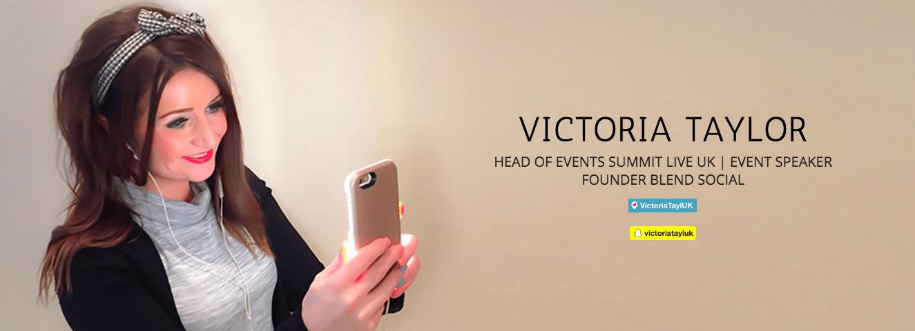Victoria Taylor Summit Live UK