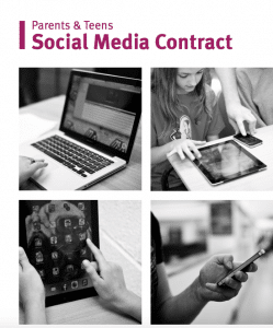 Young Minds Online Social Media Contract