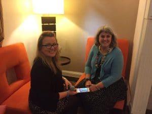 Joanne Sweeney Burke interviews Marialice Curran for her podcast JSB Talks Digital