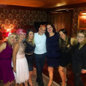 Ted Rubin and friends at Ashford Castle