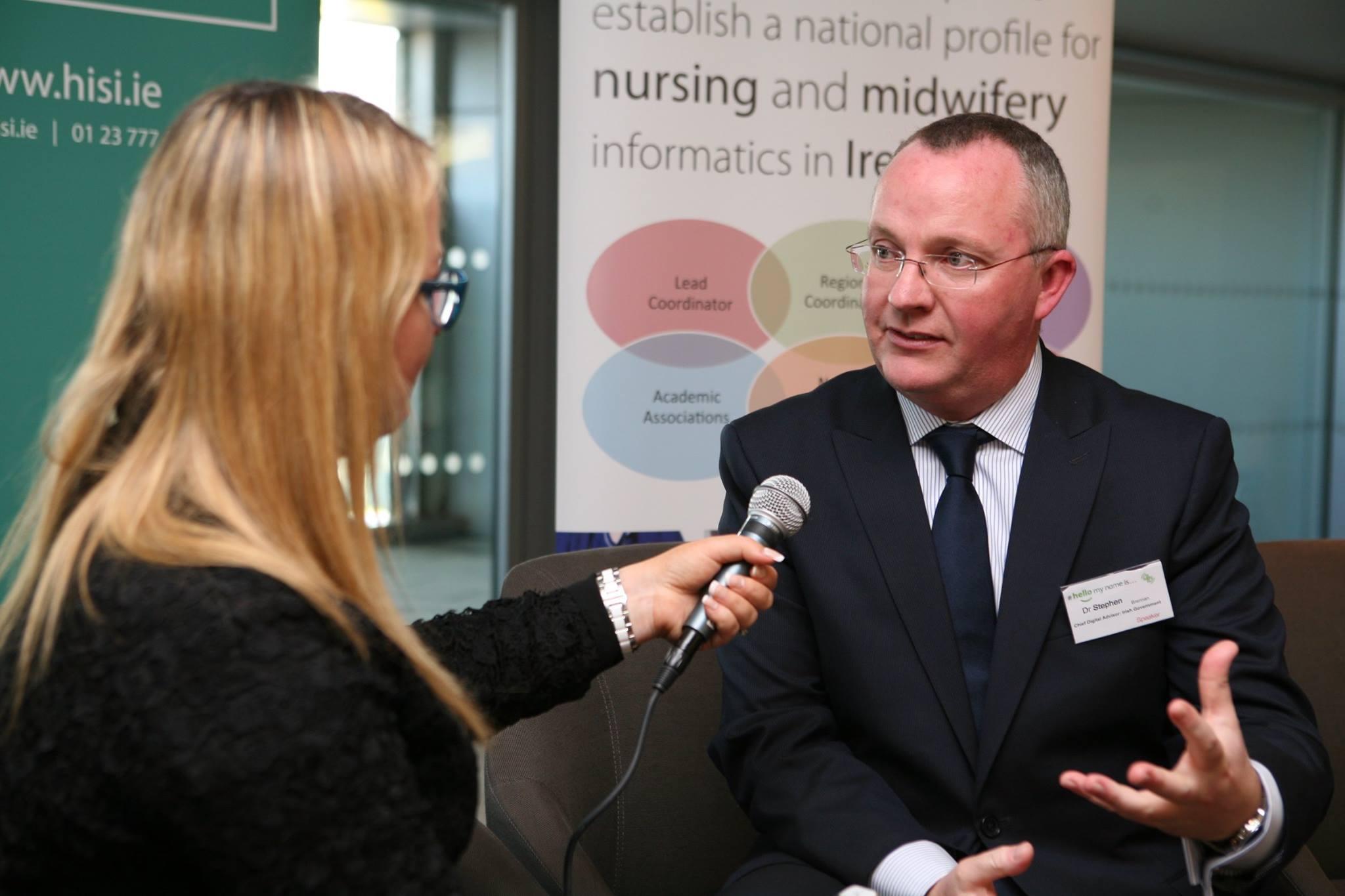 Joanne Sweeney Burke interviews Stephen Brennan