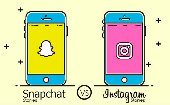 Snapchat Stories Versus Instagram Stories