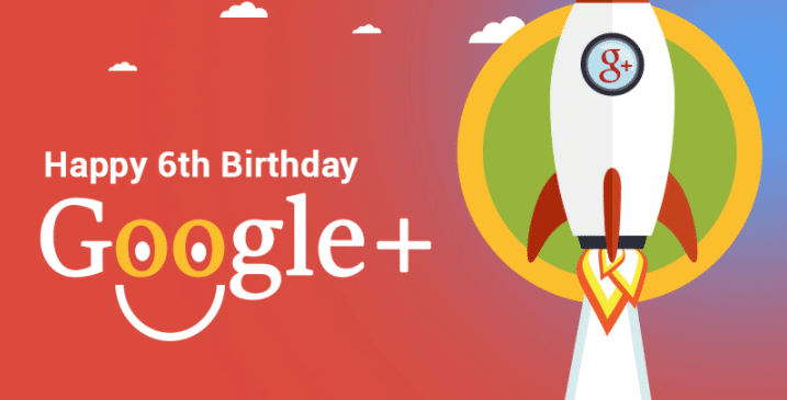 Google+ 6th Birthday