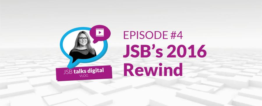 JSB Talks Digital Vlog - JSB's 2016 Rewind