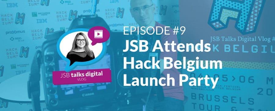 JSB Attends Hack Belgium Launch Party