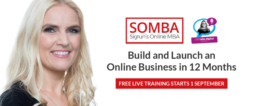 SOMBA and FREE Live Training with Sigrun