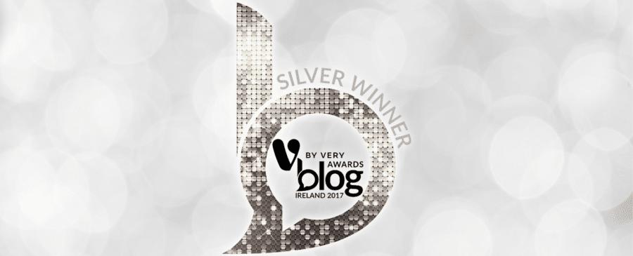 Silver Winner V by Very Blog Awards 2017