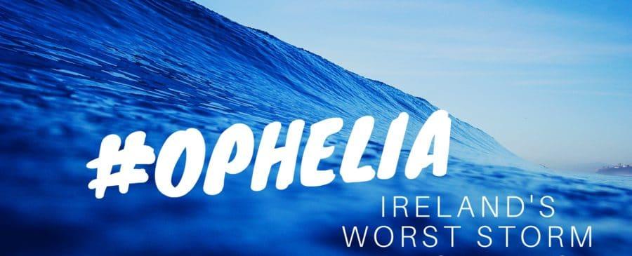 Ophelia and social media