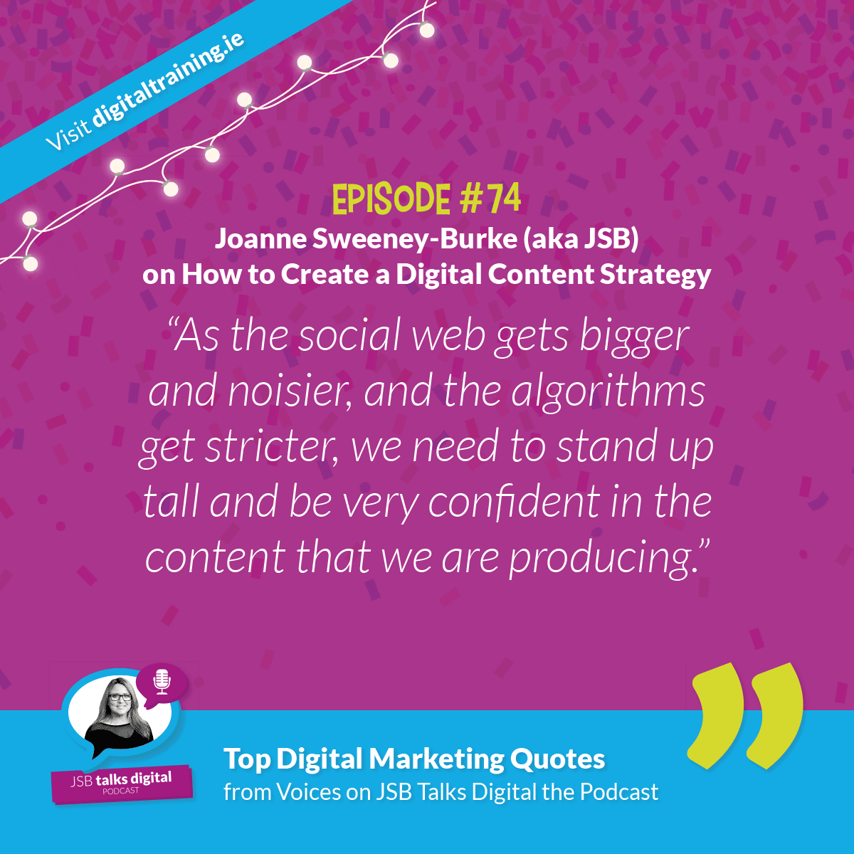 JSB Digital Content Strategy Quote