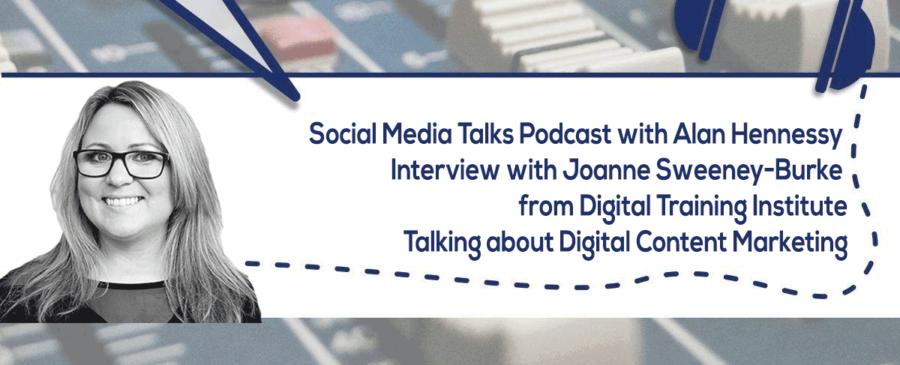 JSB on the Social Media Talks Podcast