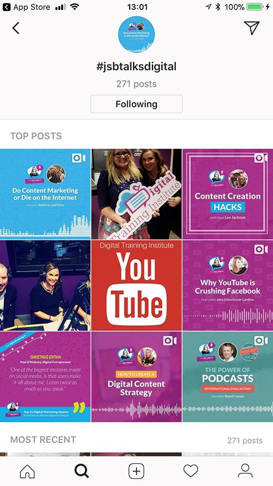 DTI Instagram Hashtags