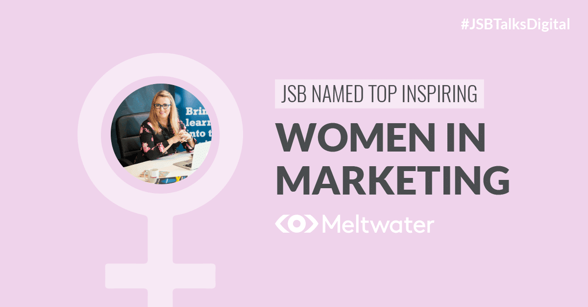 JSB Named Top Inspiring Women in Marketing [UK & Ireland]