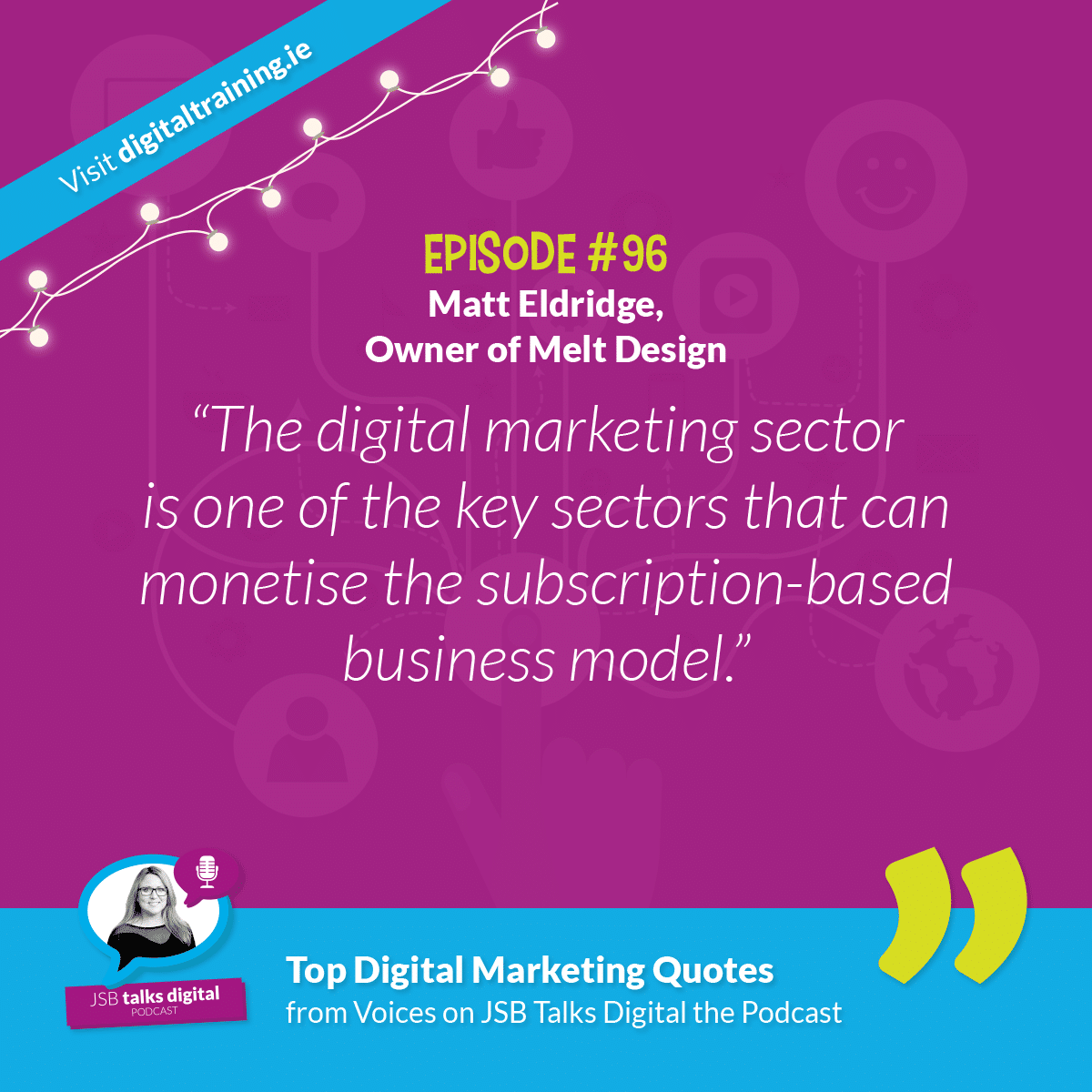 Matt Eldridge, Owner of Melt Design - Quote