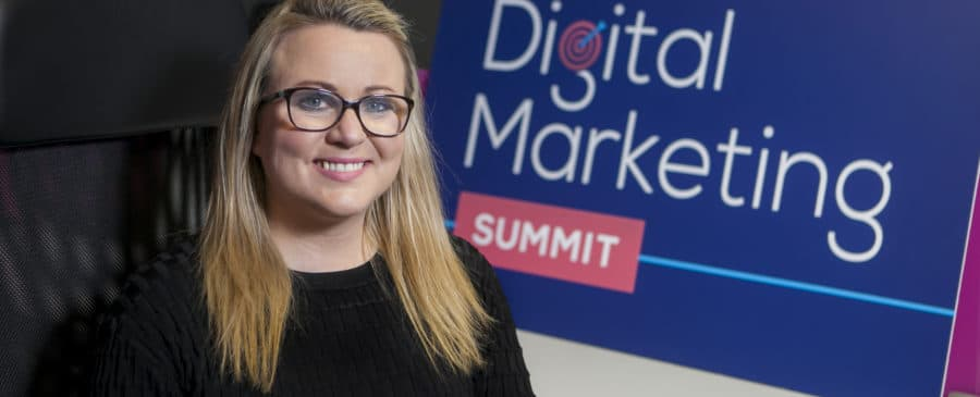 Joanne Sweeney-Burke organiser of the Public Sector Digital Marketing Summit