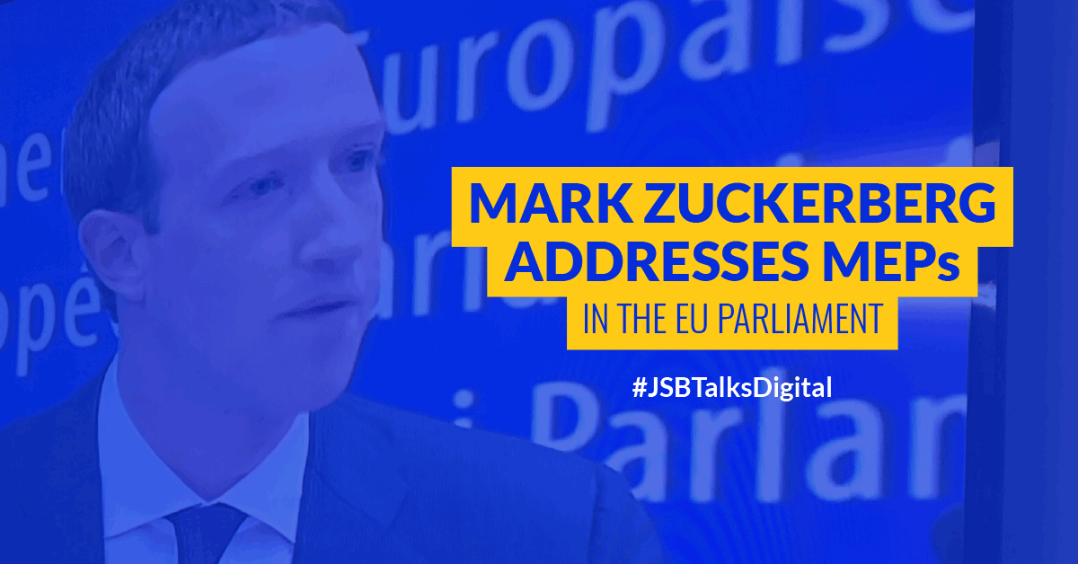 Mark Zuckerberg Addresses MEPs