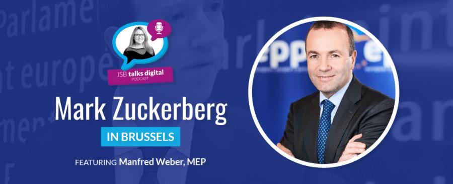 [PODCAST] Mark Zuckerberg in Brussels