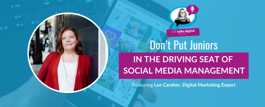 Don't put juniors in the driving seat of Social Media Community Management