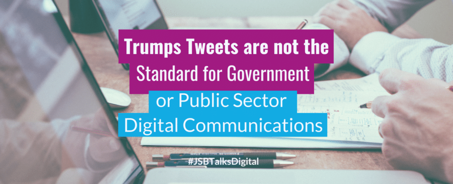 Government or Public Sector Digital Communications