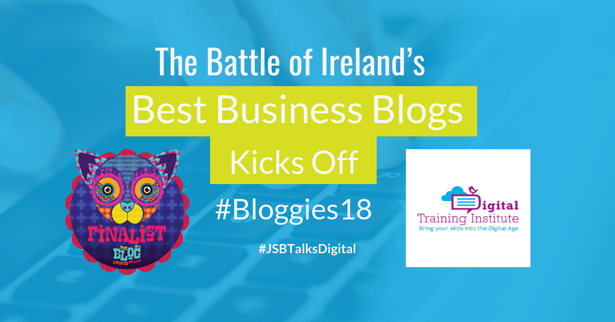 Blog Awards Ireland 2018